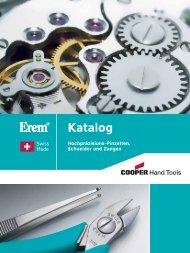 Katalog Erem Pinzetten und Zangen - PK Elektronik