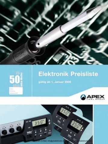 Katalog Cooper Tools Elektronikwerkzeuge - PK Elektronik