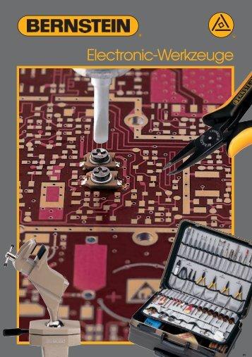 Katalog Bernstein Elektronikwerkzeuge - PK Elektronik