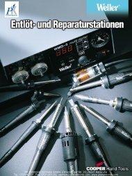 Produktinformationen Weller Entlöt- und ... - PK Elektronik