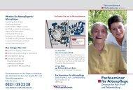Fachseminar für Altenpflege - Diakonie Michaelshoven