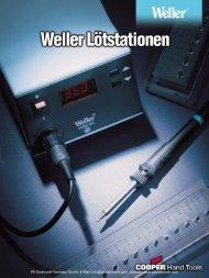 Produktinformationen Weller Lötstationen WS-Serie - PK Elektronik