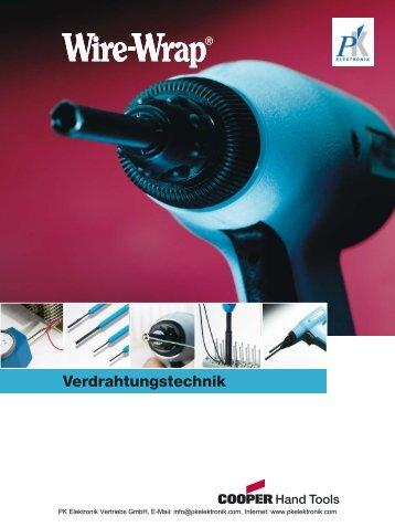Wire-Wrap Katalog - PK Elektronik