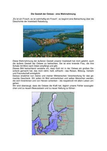 Die Gestalt der Ostsee - eine Wahrnehmung - Peter Godzik