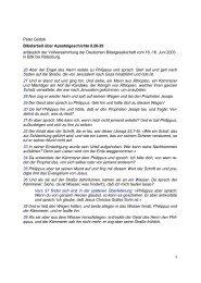 Apostelgeschichte 8,26-39 - Peter Godzik