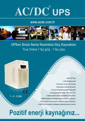 Online Katalog - UPS - Kesintisiz Güç Kaynağı