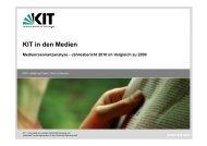 MRA-Jahresbericht 2010 als pdf-Datei - PKM - KIT