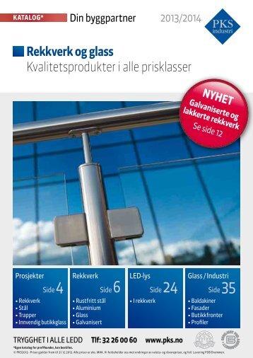 Galvaniserte rekkverk - PKS interiør & industri AS
