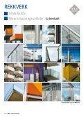 Galvaniserte rekkverk - PKS interiør & industri AS - Page 6