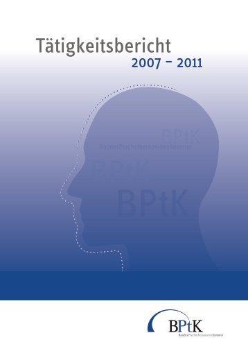 20110504 taetigkeitsbericht-bptk-2007-2011.pdf, Seiten 77-96
