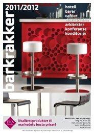 Barkrakker 2011/2012 - PKS interiør & industri AS