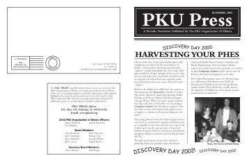 Summer 2002 - PKU Organization of Illinois