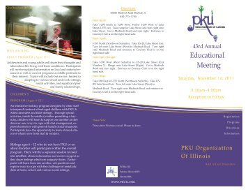 Annual Meeting - PKU Organization of Illinois