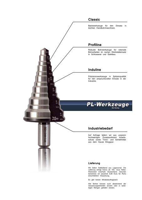 Satz mit abgedrehtem Schaft HSS Spiralbohrer 8 tlg 13-25 mm