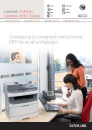Compact and convenient monochrome MFP for small workgroups
