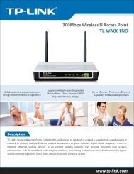 TL-WA801ND 300Mbps Wireless N Access Point - Mercateo