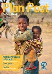 Mädchenbildung in Sambia - Plan Deutschland