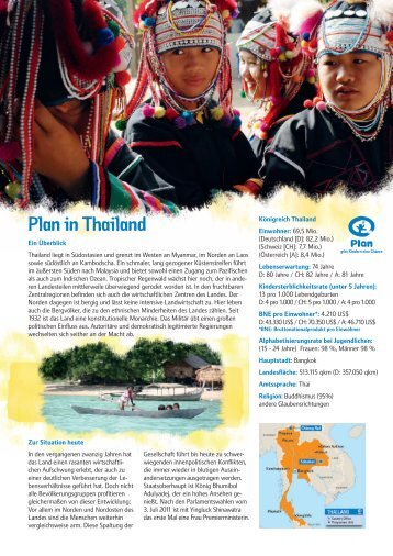 Plan in Thailand.indd - Plan Deutschland