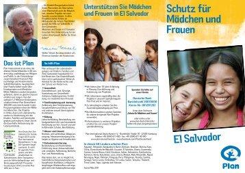 Schutz für Mädchen und Frauen - Plan Deutschland