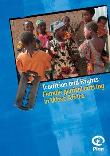 The practice of female genital cutting in West Africa - Plan Deutschland