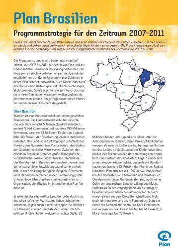 Plan Brasilien - Plan Deutschland