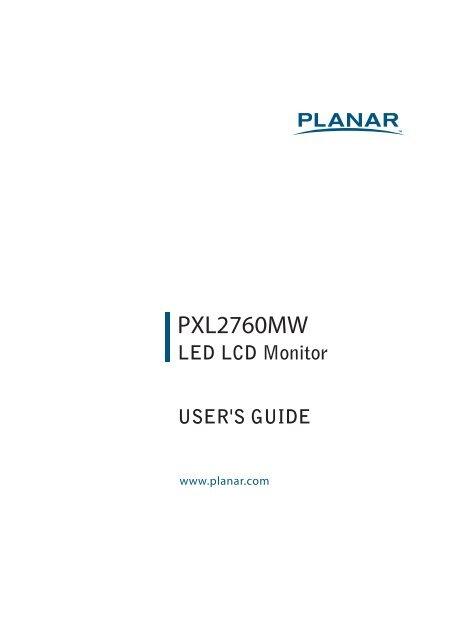 User Manual - Planar
