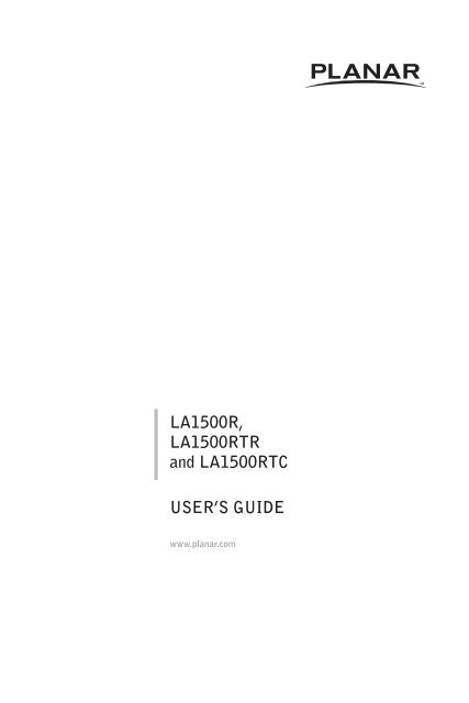 User Controls - Planar