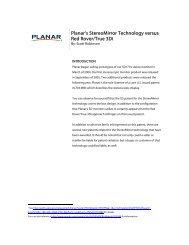 StereoMirror vs RedRover - Planar