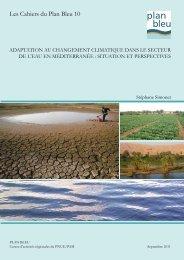 Adaptation au changement climatique dans le secteur de l'eau en ...