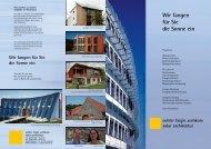 oehler faigle archkom solar architektur Wir fangen für Sie die Sonne ...