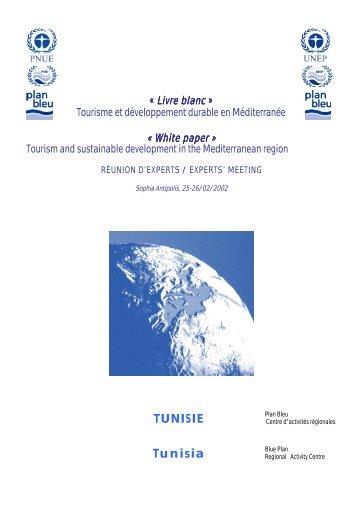 Livre blanc - Plan Bleu