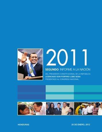 SEGUNDO INFORME A LA NACIÓN - Visión de País 2010 - 2038 ...