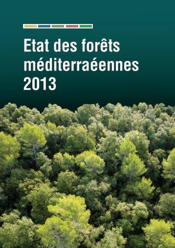 Etat des forêts méditerranéennes 2013 - Plan Bleu