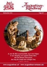 Weihnachten 2011 - Augustiner