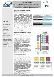 HP LeftHand - eSell GmbH