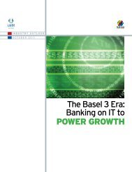 The Basel 3 Era: Banking on IT to POWER GROWTH