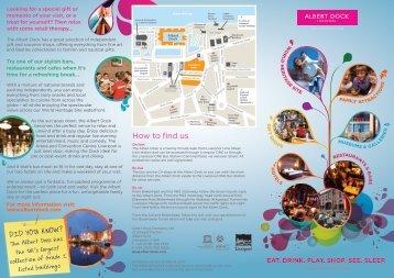 Albert Dock Brochure 2010 (4 KB)
