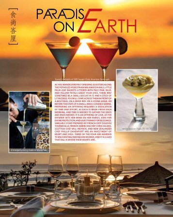 Cuisine & Wine Singapore – Jul Aug 2013 - Mozaic Bali