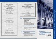 Flyer 2013 - Förderverein Kirchenmusik St. Martin eV Wangen im ...