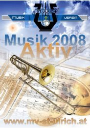 Musik Aktiv 2008.pub - MV - St. Ulrich