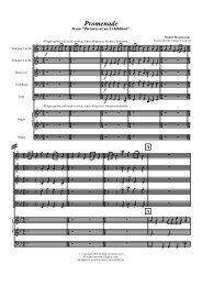 Score excerpt (PDF) - Peakview Music