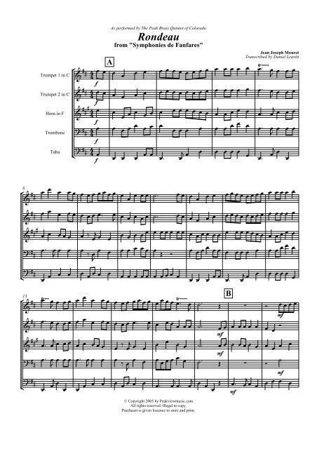 Score excerpt (PDF) version 1 - Peakview Music