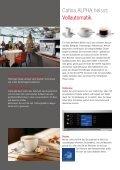 Die Welt der Kaffeezubereitung – Cafina ALPHA - Planerhandbuch - Page 6