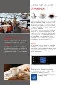 Le monde des spécialités au café – Cafina ALPHA - Planerhandbuch - Page 6