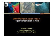 WWF-US Planet Action Project : Tiger Conservation in Asia