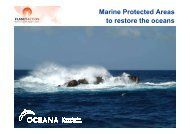 Marine Protected Areas to Restore the Oceans - Planet Action