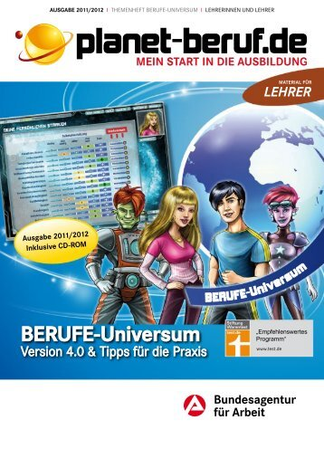 BERUFE-Universum - Planet Beruf.de