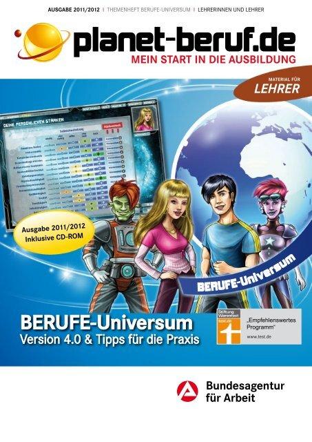 BERUFE-Universum - Planet Beruf.de  BERUFE-Universu...