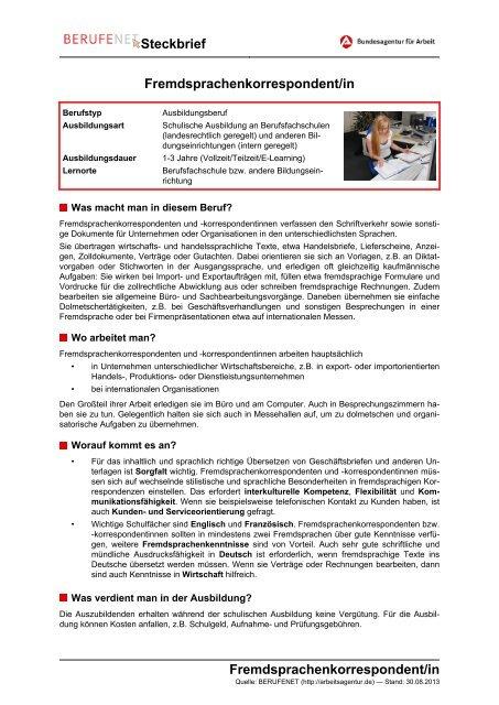 Vorlage steckbrief französisch 10 Steckbrief