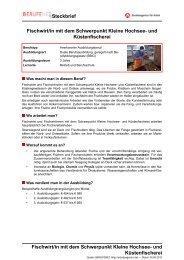 Kleine Hochsee- und Küstenfischerei ( PDF ) - Planet Beruf.de